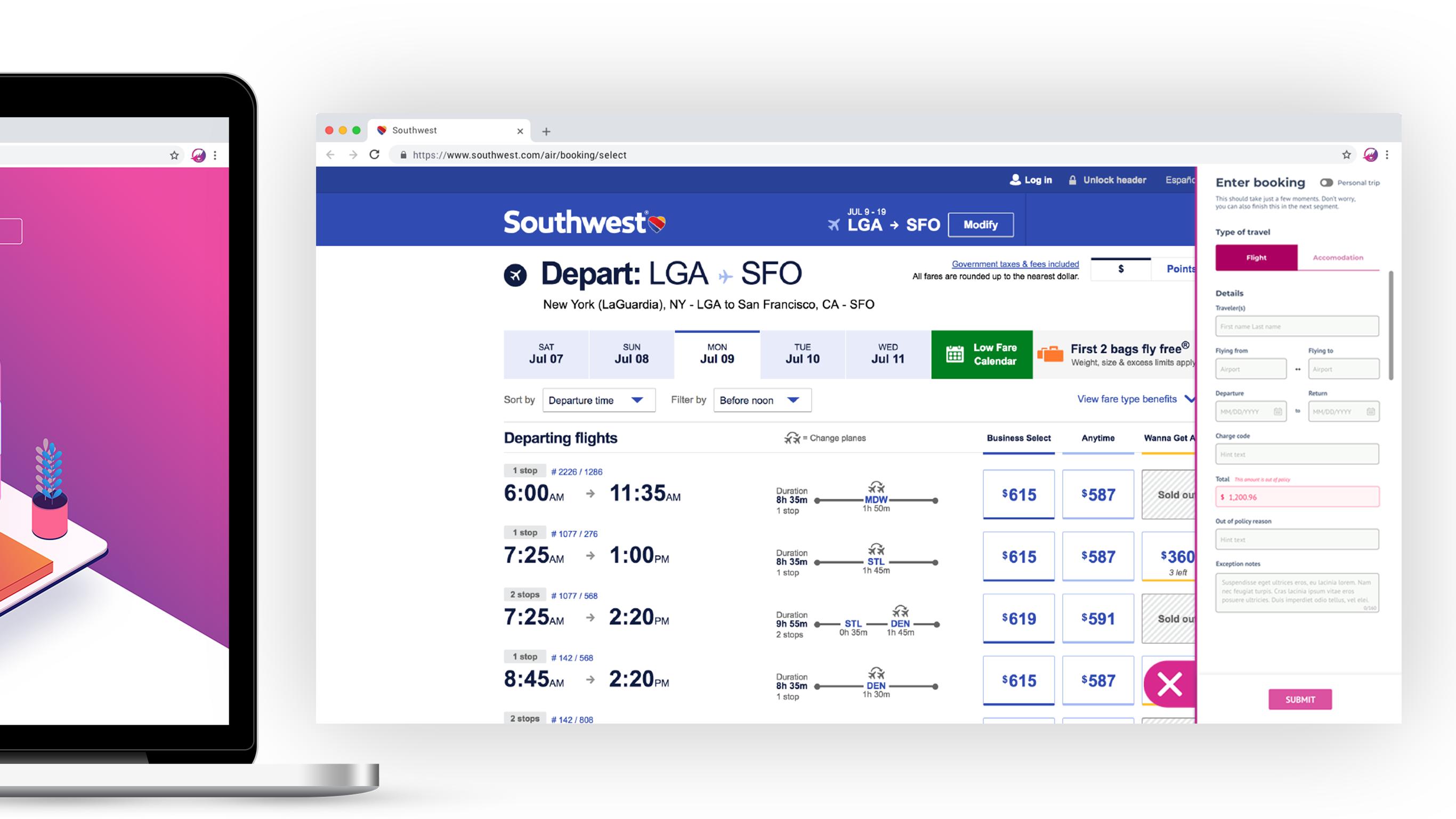 Shep-laptop-booking-modal